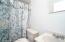 3/4 Bathroom in Basement.