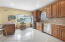 Kitchen, with Granite & Stainless Steel Appliances