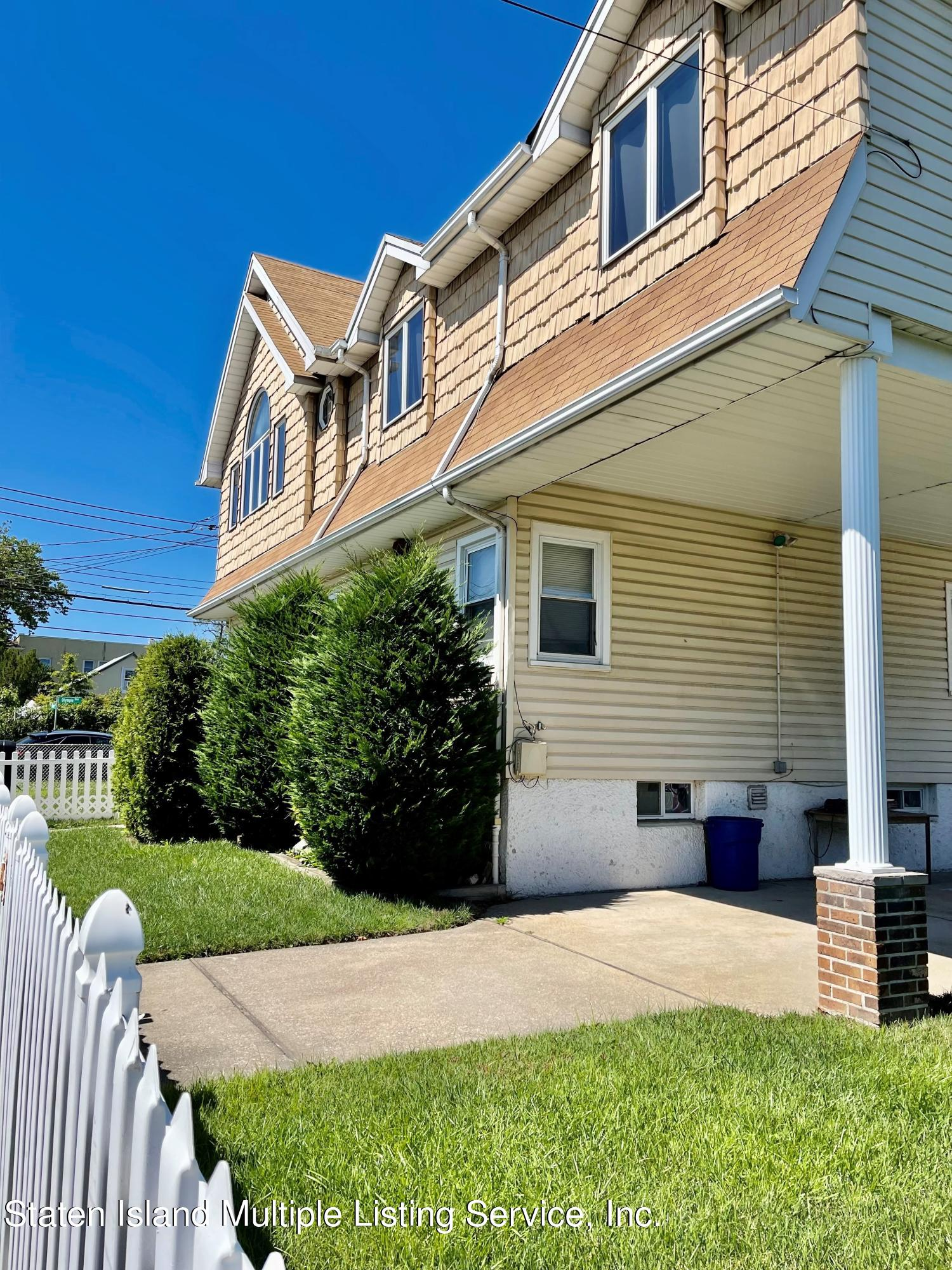 Two Family - Detached 329 Mallory Avenue  Staten Island, NY 10305, MLS-1147635-36