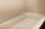 Spotless bathroom tub