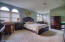 spacious master bedroom with private bath