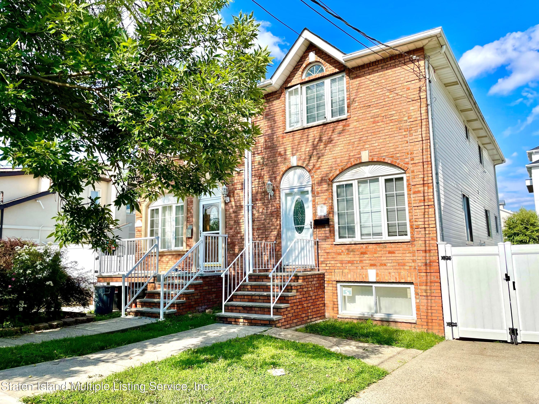 Single Family - Semi-Attached in Tottenville - 711 Rockaway Street  Staten Island, NY 10307