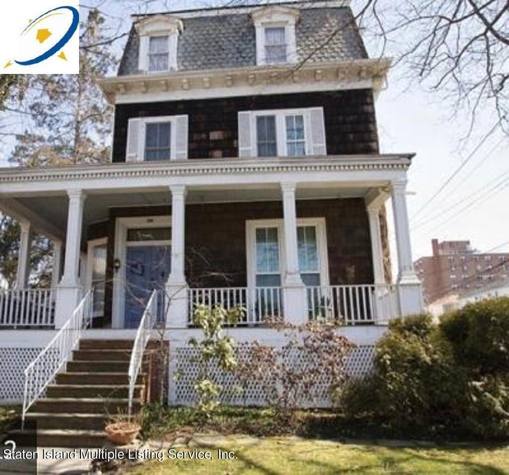 Single Family - Detached in Snug Harbor - 163 Clinton Avenue  Staten Island, NY 10301