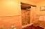 shower in principal suite