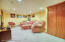 finished basement great for a family room