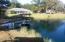 stocked pond, gazebo, rear of home