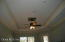 MASTER BEDROOM LIGHTED TRAY CEILING