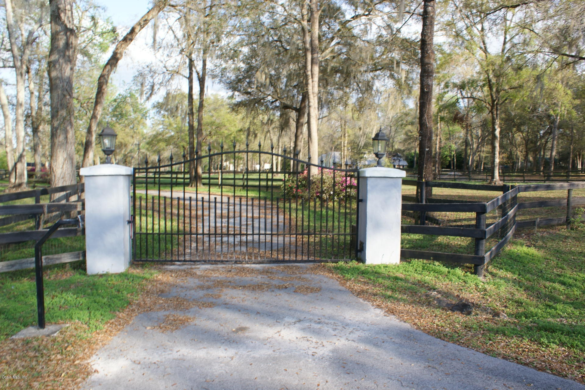 Electric front gate