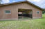 36X31 BARN W/METAL ROOF. RIGHT SIDE CONCRETE FLOOR IN TACK & FEED ROOM (12X11). GROOMING AREA (20X12) W/CONCRETE FLOOR. LEFT SIDE 3 STALLS. COULD BE CONFIGURED FOR 6 POSSIBLE STALLS. ELECTRIC & WATER