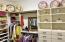 Master Closet Has Built-Ins