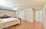 Oversized Master Suite features a very spacious walk-in closet