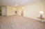 Enter the large combination Living/Dining Room