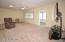 The open concept Kitchen/Great Room is located on the left side of the home