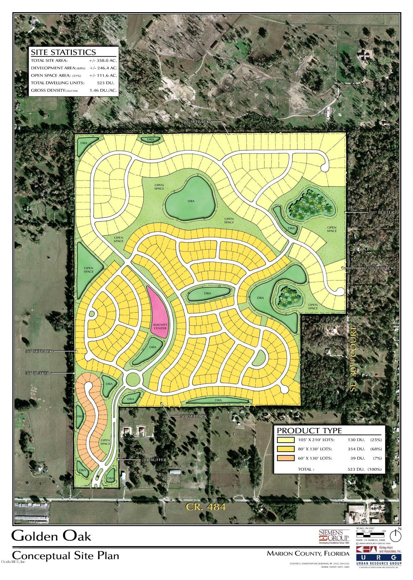 Approved for 895 Units on 358+ acres.