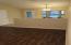Half wall dividing Living/Great Room from Dining Room