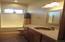 The dual purpose hall and bedroom bath h