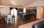 Great room floor plan with vaulted ceilings