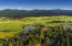 Aerial shot of the Sunriver lodge and the great meadow, world class golf and private airport