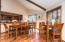 Ample room to share a meal with family and friends