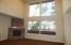 4 custom windows in living room.