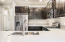 Quarz counter, tile backsplash,