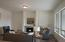 Great Room has 11 ft ceiling, gas fireplace; Fireplace wall will not have niche. Finishes may vary