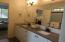 Master Bath w/2 sink vanity, lots of storage, large shower; finishes may vary