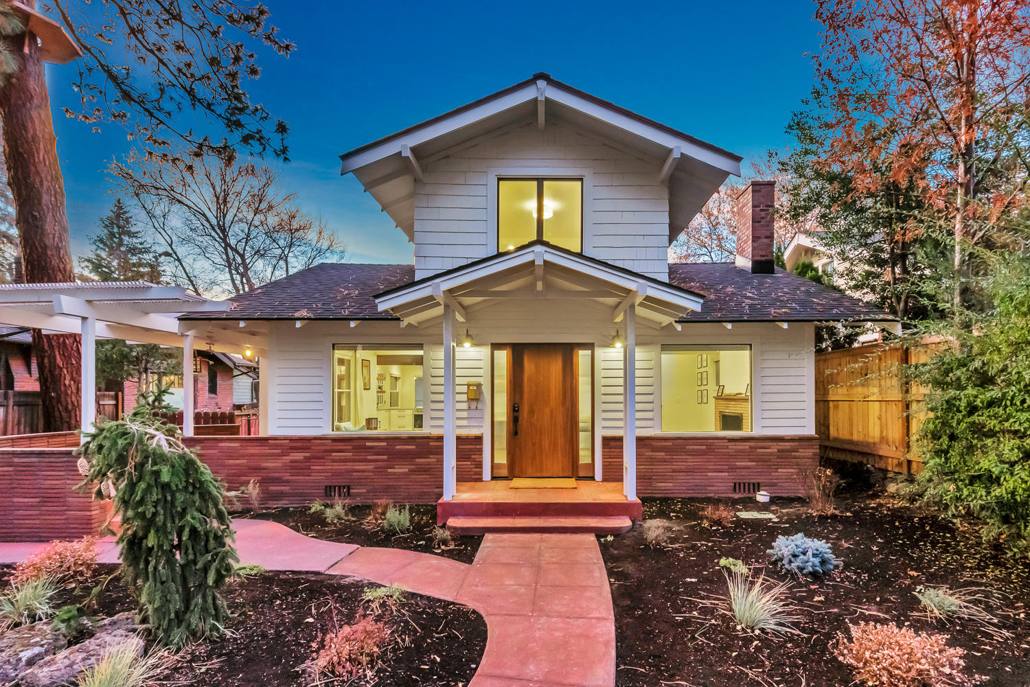 This one of a kind opportunity to own an ACTIVE VACATION RENTAL in Bend's most charming neighborhood is here! The Historic Claypool House has been given new life & is the perfect home away from home. This century old piece of history has been lovingly restored & rebuilt from the inside out, blending historical preservation with 21st century luxury to create a family legacy for another 100 years. No detail was overlooked, from all new electrical wiring, plumbing, framing, insulation, windows, doors, roof, the list goes on. The floor plan has been thoughtfully redesigned to modern standards, maximizing the space for large family gatherings, indoor/outdoor entertaining, yet intimate for those who desire a full time residence or second home. Explore the surrounding tree lined streets, Drake Park, Deschutes River and charming downtown, all within blocks of this home. Whether it's your next income property, a second home or your forever home, this is surely an investment into Bend's future.