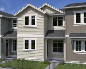 Home will be an interior unit and similar to photo or rendering shown. Specs will vary.