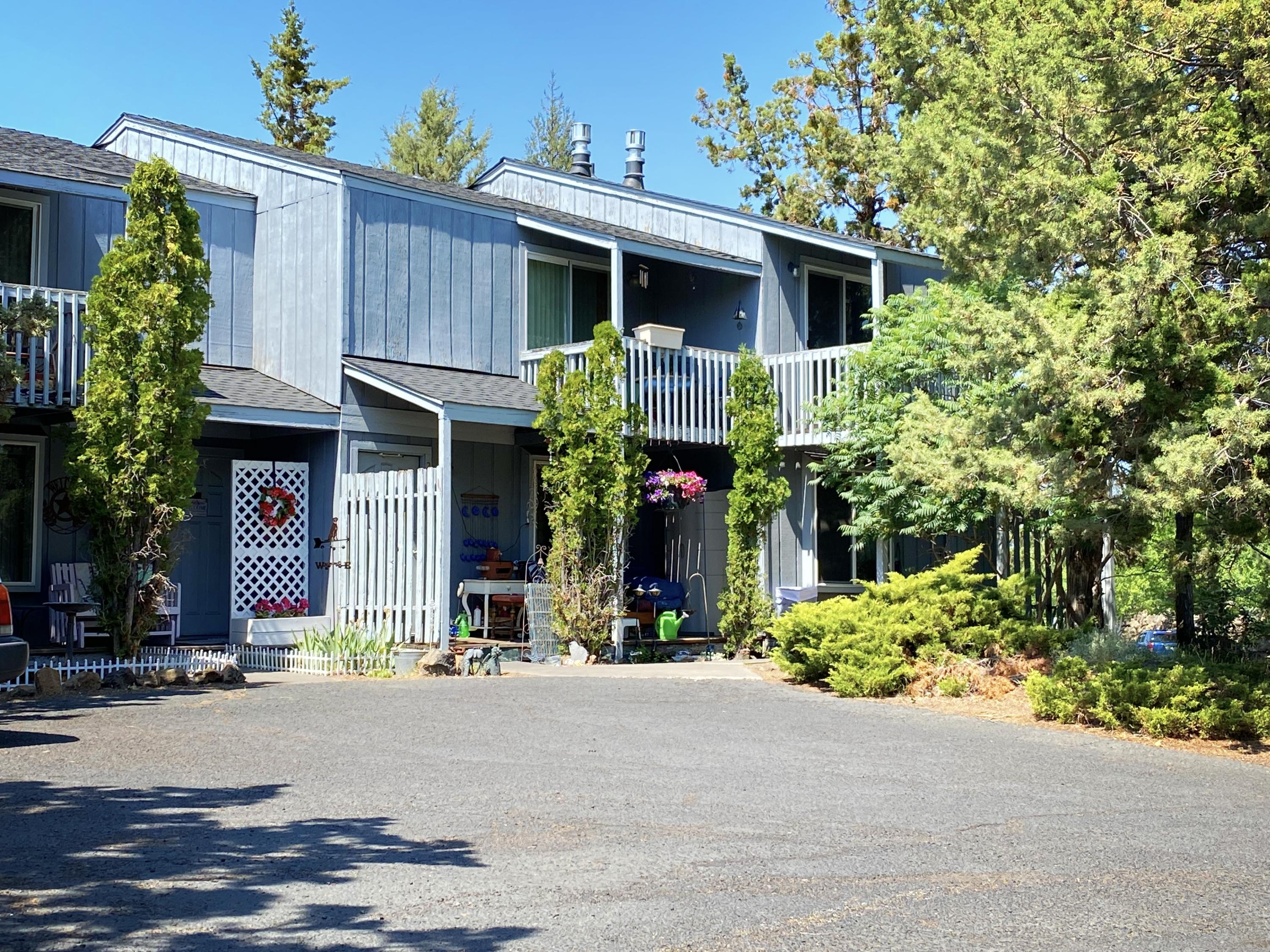 Four-Plex Investment Opportunity in the Heart of Bend's Eastside Medical Community. Each Unit is 2BD/1.5BA. All Units Feature a Fireplace, Laundry Room with Washer Dryer hookups and a Fenced Yard with Sprinkler System. The Property has Long Term Tenancies with Very Little Turn Over History. Currently All Units are Month to Month Rentals. Rents are Far Below Area Comps. Within Walking Distance to the Ensworth Elementary School and Al Moody Park. Also in close proximity to St. Charles Hospital, the Med Centers and Costco. Property has Deferred Maintenance. Property is Being Sold Under Market and As Is. Opportunity for ''Fixer'' Owner. Current Owner Pays Water, Sewer & Garbage.