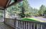 Covered front deck