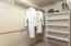 Main level suite, large spacious closet.