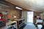 workshop area adjacent pantry