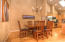 Nice sized dining area off the Kitchen in the Great room