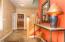 Slate floor entryway