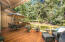 Peace and quiet await you on this very expansive cedar deck off the Great room and kitchen area