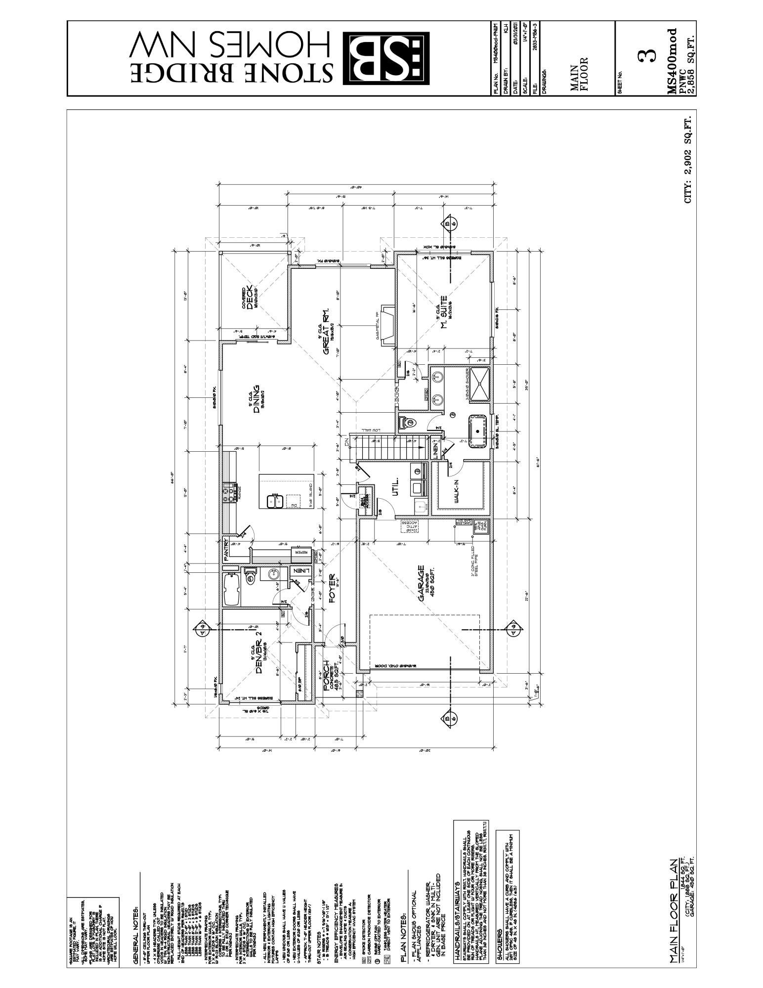 A1.3-MAIN FLOOR PLAN MS6