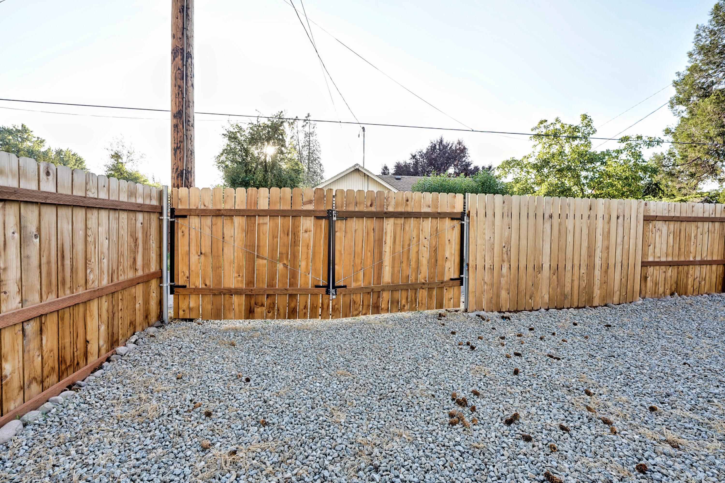 Alley Access Gate