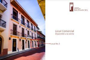Local Comercial En Ventaen Panama, Casco Antiguo, Panama, PA RAH: 18-6131