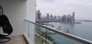 Apartamento En Alquileren Panama, Avenida Balboa, Panama, PA RAH: 22-3293