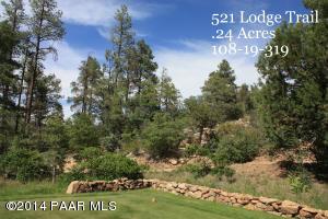 Photo of 521 Lodge Trail Circle, Prescott, AZ a vacant land listing for 0.24 acres