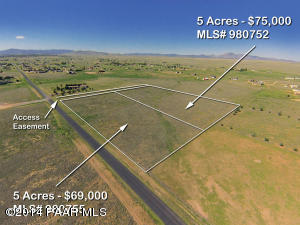 Photo of 0 Antelope Meadows, Prescott Valley, AZ a vacant land listing for 5 acres