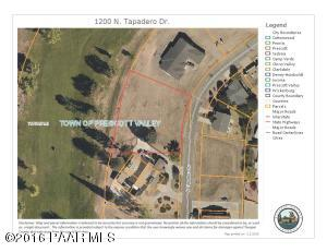 Photo of 1200 N Tapadero Drive, Prescott Valley, AZ a vacant land listing for 0.67 acres