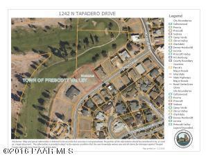 Photo of 1242 N Tapadero Drive, Prescott Valley, AZ a vacant land listing for 0.50 acres