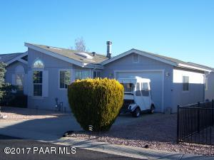 Photo of 577 N Vermillion Drive, Prescott Valley, AZ a single family manufactured home around 1700 Sq Ft., 2 Beds, 2 Baths
