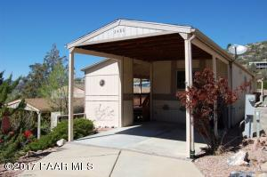Photo of 2486 E Hilltop Road, Prescott, AZ a single family manufactured home around 900 Sq Ft., 2 Beds, 2 Baths