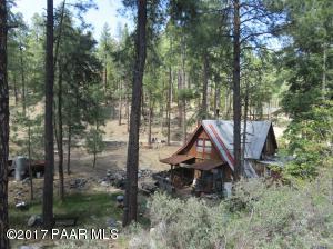 Photo of 4251 E Pine Mountain Road, Prescott, AZ a single family home around 1000 Sq Ft., 3 Beds, 1 Bath