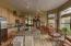 Oak Flooring Carries Through Kitchen