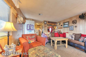 Photo of 3625 N Treasure Drive, Prescott Valley, AZ a single family manufactured home around 900 Sq Ft., 2 Beds, 1 Bath