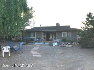 Photo of 3590 W Chaparral Lane, Chino Valley, AZ a single family home around 900 Sq Ft., 2 Beds, 1 Bath